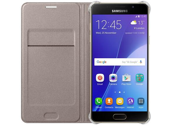 Калъф Samsung A510 FlipWallet Gold for A5(2016) - 4