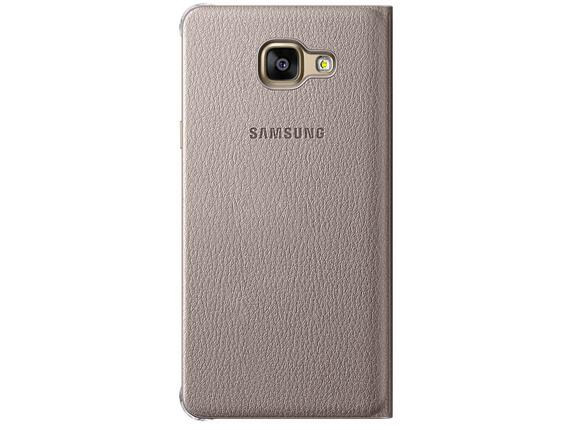 Калъф Samsung A510 FlipWallet Gold for A5(2016) - 2