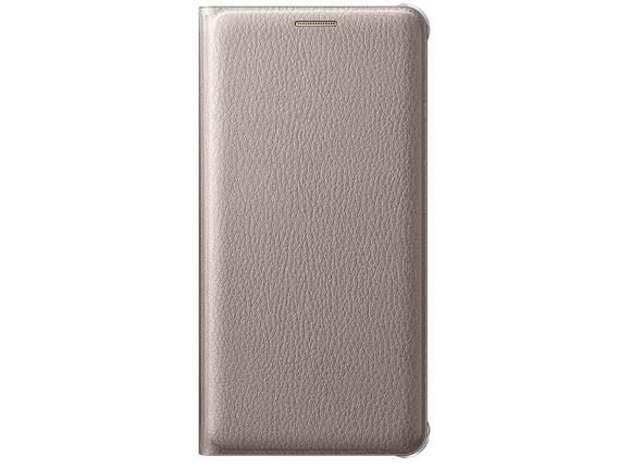 Калъф Samsung A510 FlipWallet Gold for A5(2016)