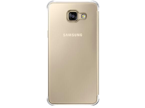 Калъф Samsung A510 ClearViewCover Gold for A5(2016) - 2