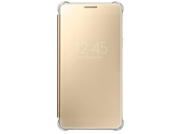 Калъф Samsung A510 ClearViewCover Gold for A5(2016)