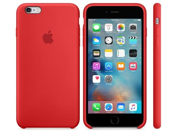Калъф Apple iPhone 6s Plus Silicone Case - (PRODUCT)RED - 4