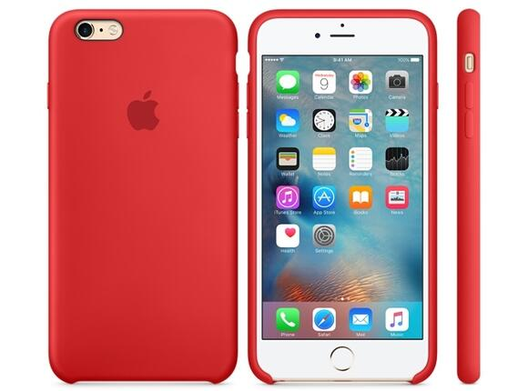 Калъф Apple iPhone 6s Plus Silicone Case - (PRODUCT)RED - 3
