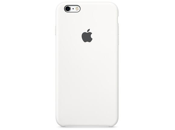 Калъф Apple iPhone 6s Plus Silicone Case - White