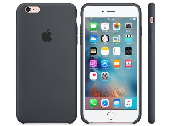 Калъф Apple iPhone 6s Plus Silicone Case - Charcoal Gray - 4