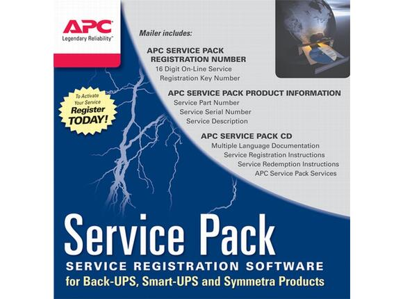 Разширена гаранция APC Service Pack 3 Year Warranty Extension (for new product purchases)