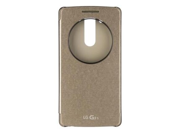 Калъф LG Quick Circle Case G3s Gold - 4
