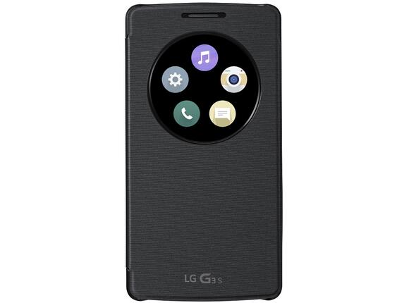 Калъф LG Quick Circle Case G3s Black