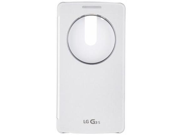 Калъф LG Quick Circle Case G3s White - 2