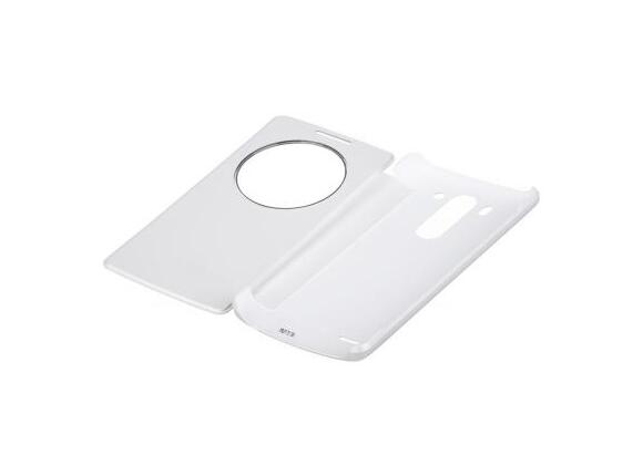 Калъф LG Quick Circle Case G3s White - 5