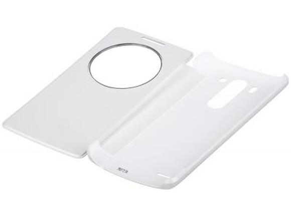 Калъф LG Quick Circle Case G3s White - 4