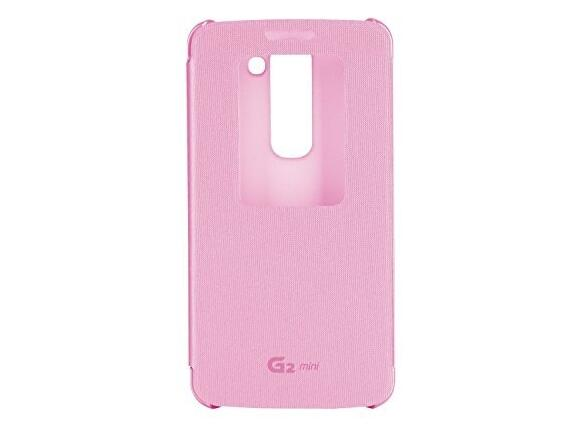 Калъф LG Quick Windows Case G2 Mini Pink