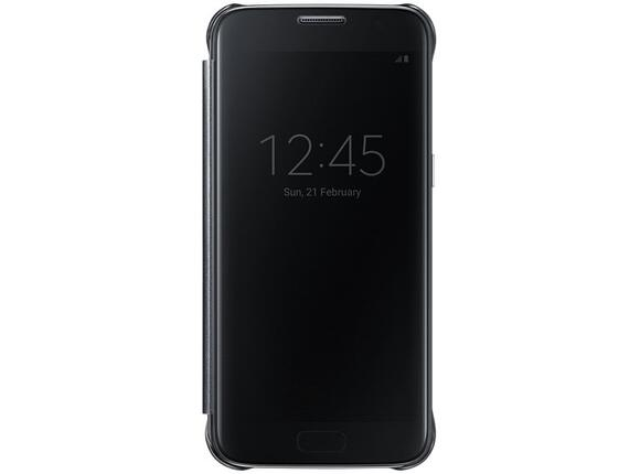 Калъф Samsung G930 ClearViewCover Black for GalaxyS7