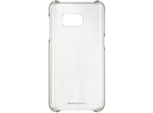 Калъф Samsung G930 ClearCover Gold for GalaxyS7 - 2
