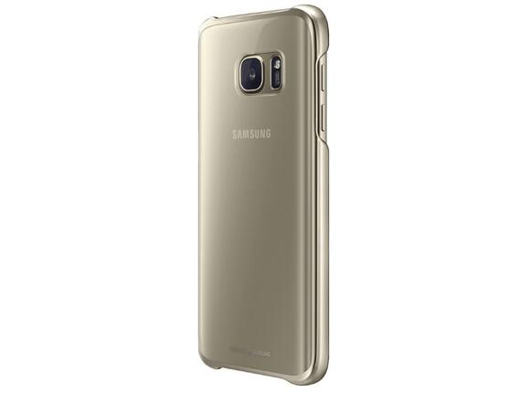 Калъф Samsung G930 ClearCover Gold for GalaxyS7 - 3