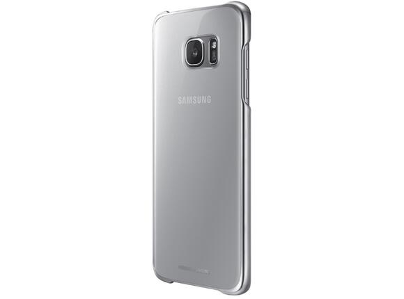Калъф Samsung G935 ClearCover Silver for GalaxyS7 Edge - 4