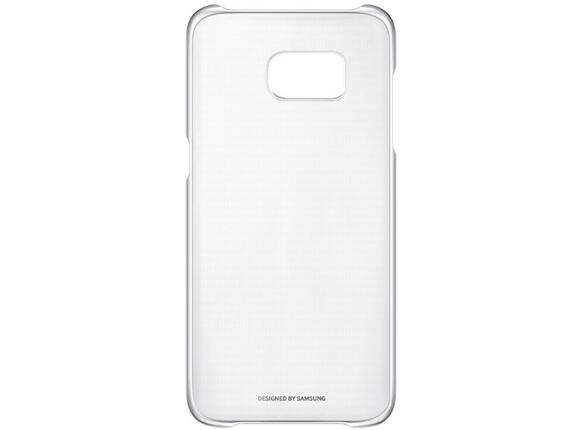 Калъф Samsung G935 ClearCover Silver for GalaxyS7 Edge - 2