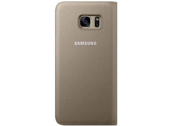 Калъф Samsung G935  SViewCover Gold for GalaxyS7 Edge - 2