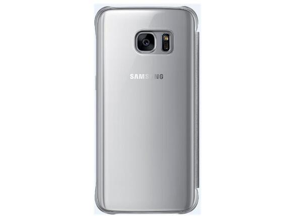 Калъф Samsung G930 ClearViewCover Silver for GalaxyS7 - 3