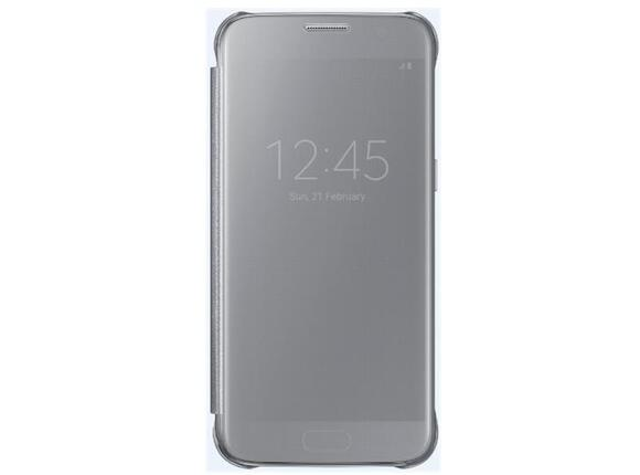 Калъф Samsung G930 ClearViewCover Silver for GalaxyS7 - 4