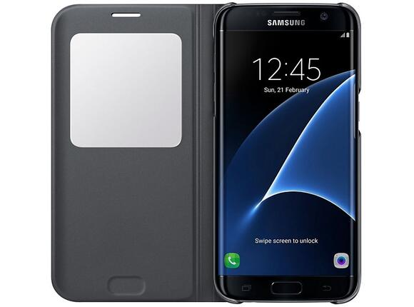 Калъф Samsung G935  SViewCover Black for GalaxyS7 Edge - 3