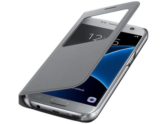 Калъф Samsung G930 SViewCover Silver for GalaxyS7
