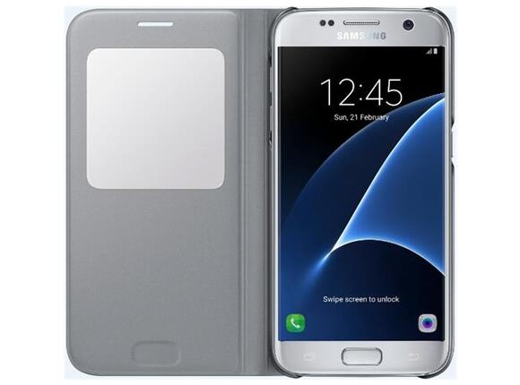 Калъф Samsung G930 SViewCover Silver for GalaxyS7 - 4