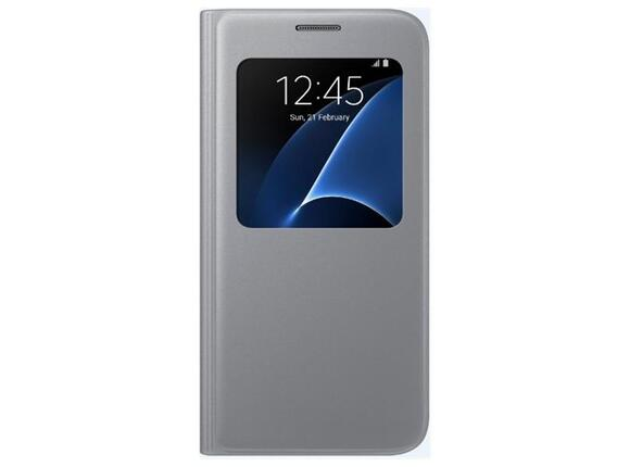 Калъф Samsung G930 SViewCover Silver for GalaxyS7 - 2