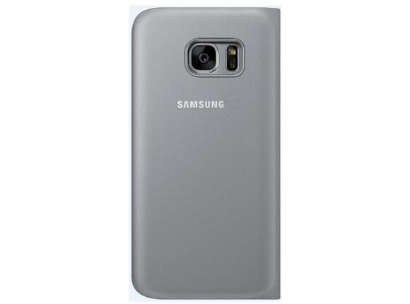 Калъф Samsung G930 SViewCover Silver for GalaxyS7 - 3