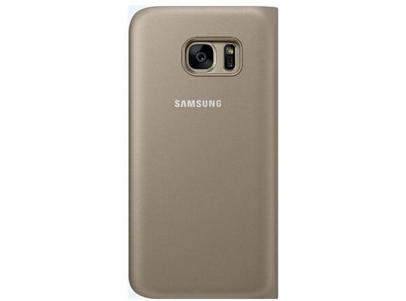 Калъф Samsung G930 SViewCover Gold for GalaxyS7 - 2