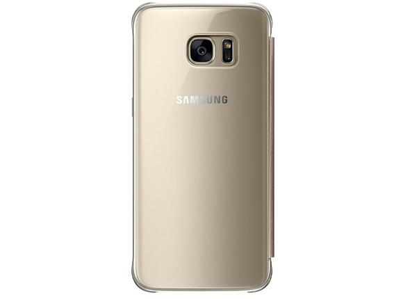 Калъф Samsung G935 ClearViewCover Silver for GalaxyS7 Edge - 2