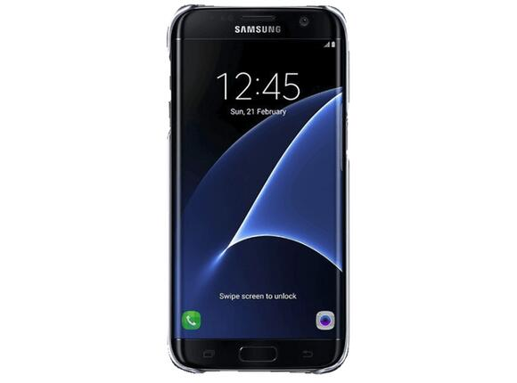 Калъф Samsung G935 ClearCover Black for GalaxyS7 Edge - 2