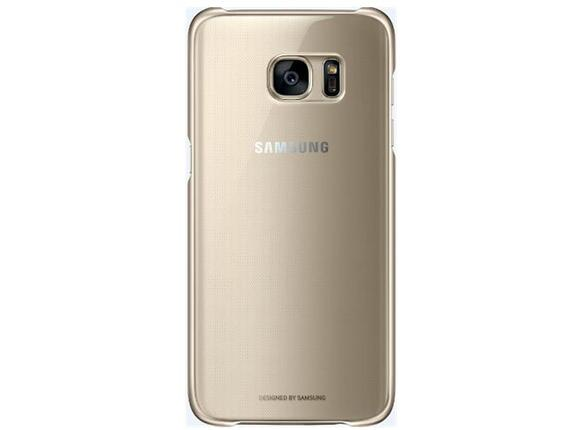 Калъф Samsung G935 ClearCover Gold for GalaxyS7 Edge - 2
