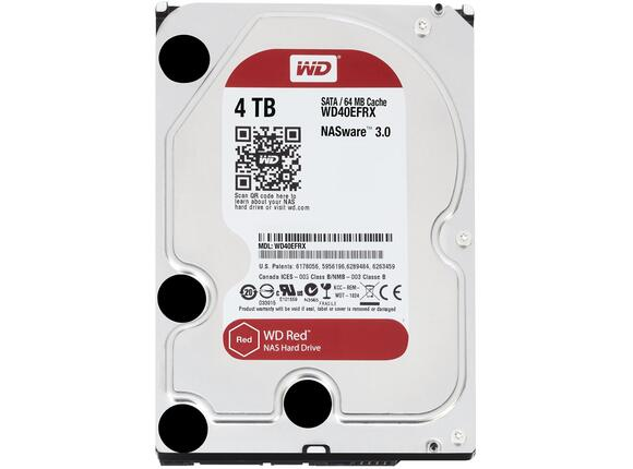 Твърд диск HDD 4TB SATAIII WD Red 64MB for NAS (3 years warranty) - 3