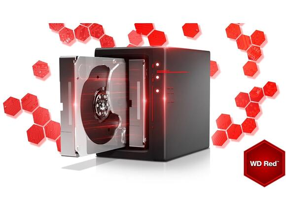 Твърд диск HDD 4TB SATAIII WD Red 64MB for NAS (3 years warranty) - 7