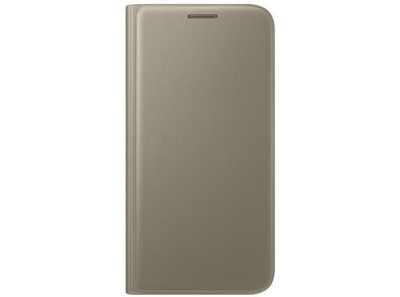 Калъф Samsung G930 FlipWallet Gold for GalaxyS7 - 4