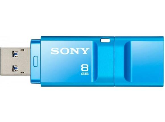 Флаш памет Sony New microvault 8GB Click blue USB 3.0