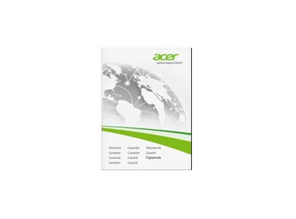 Разширена гаранция Acer 3Y Warranty Extension for Acer Tablets