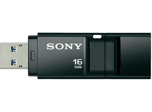 Флаш памет Sony New microvault 16GB Click black USB 3.0