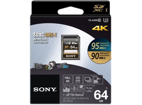 Флаш карта Sony 64GB SD - 2