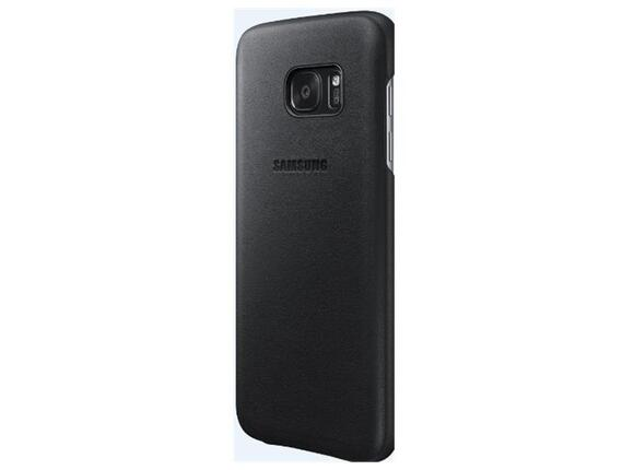 Калъф Samsung G930 Leather cover Black for GalaxyS7