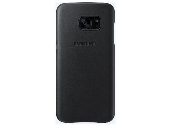 Калъф Samsung G930 Leather cover Black for GalaxyS7 - 2