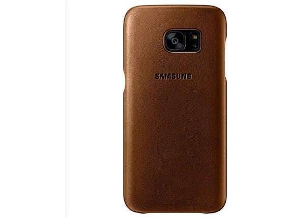 Калъф Samsung G930 Leather cover Brown for GalaxyS7