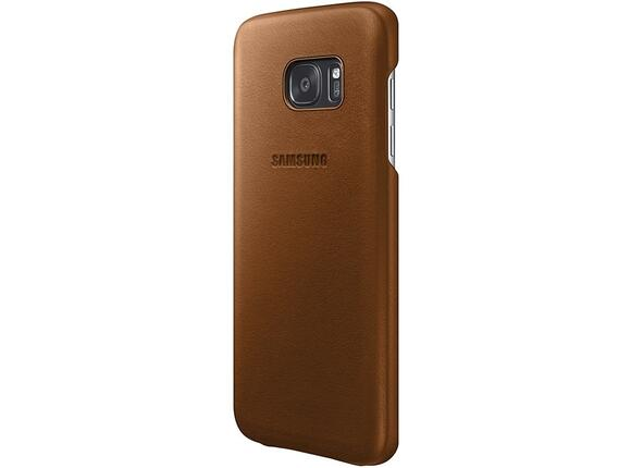 Калъф Samsung G930 Leather cover Brown for GalaxyS7 - 2