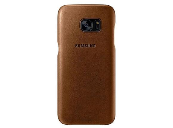 Калъф Samsung G935 Leather cover Brown for GalaxyS7 Edge
