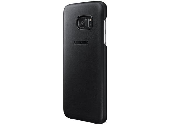 Калъф Samsung G935 Leather cover Black for GalaxyS7 Edge - 3