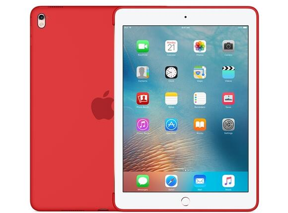 Калъф Apple Silicone Case for 9.7-inch iPad Pro - (PRODUCT)RED - 3