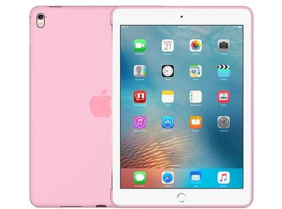 Калъф Apple Silicone Case for 9.7-inch iPad Pro - Light Pink - 2