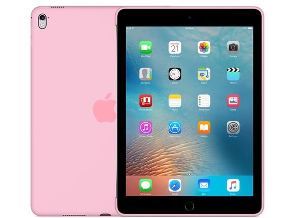 Калъф Apple Silicone Case for 9.7-inch iPad Pro - Light Pink - 5