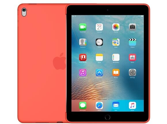 Калъф Apple Silicone Case for 9.7-inch iPad Pro - Apricot - 5